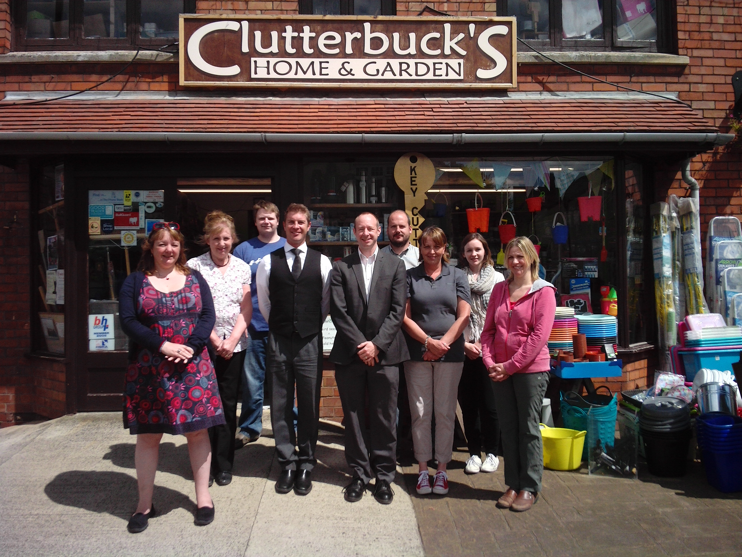 The Clutterbuck Team